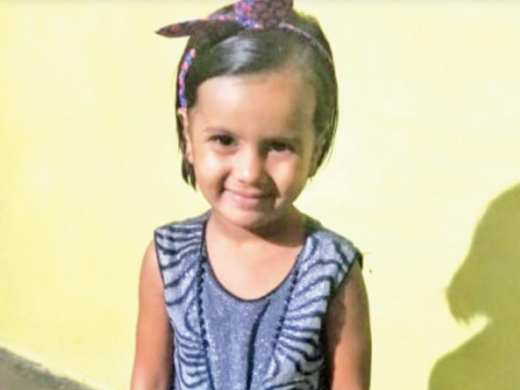 भोपाल में छत पर भाई के साथ खेल रही 5 साल की बच्ची तीसरी मंजिल से गिरी, इलाज के दौरान मौत|भोपाल,Bhopal - Dainik Bhaskar