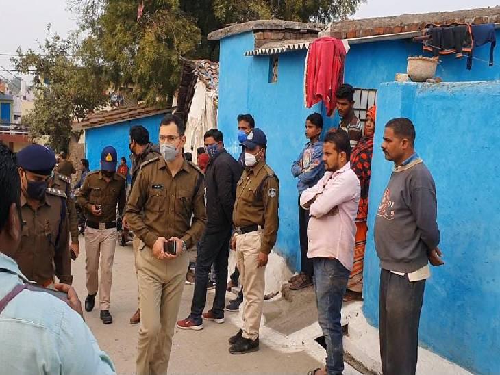 कार्रवाई के दौरान एएसपी अमित कुमार भी मौके पर पहुंचे।