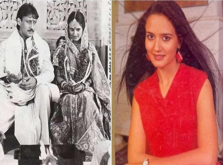 शाही परिवार के ठाट-बाट छोड़ जैकी के साथ चॉल में रहीं थीं उनकी पत्नी आयशा, 13 साल की उम्र में हुई थी पहली मुलाकात|बॉलीवुड,Bollywood - Dainik Bhaskar