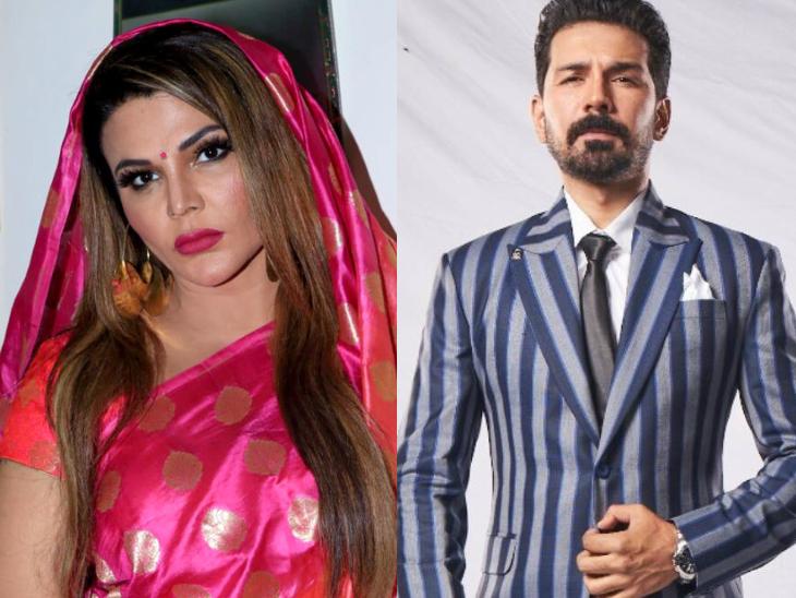 राखी सावंत का पति को लेकर चौंकाने वाला खुलासा, अभिनव शुक्ला को कहा ठरकी, गुस्से में रुबीना ने बाल्टी भर पानी उड़ेला|टीवी,TV - Dainik Bhaskar