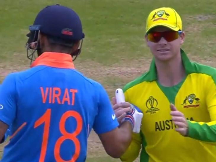 2019 वर्ल्ड कप में भारत-ऑस्ट्रेलिया मैच के बाद स्मिथ ने कोहली को थैंक्यू कहा था।