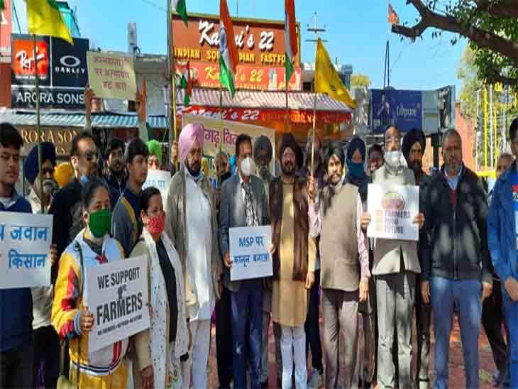 पूर्व केंद्रीय मंत्री हरमोहन धवन ने कहा- किसान आंदोलन का समर्थन करना समय की जरूरत।