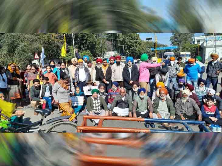 लोगाें का सरकार खिलाफ गुस्सा दिखा, मुख्य सड़क जाम की