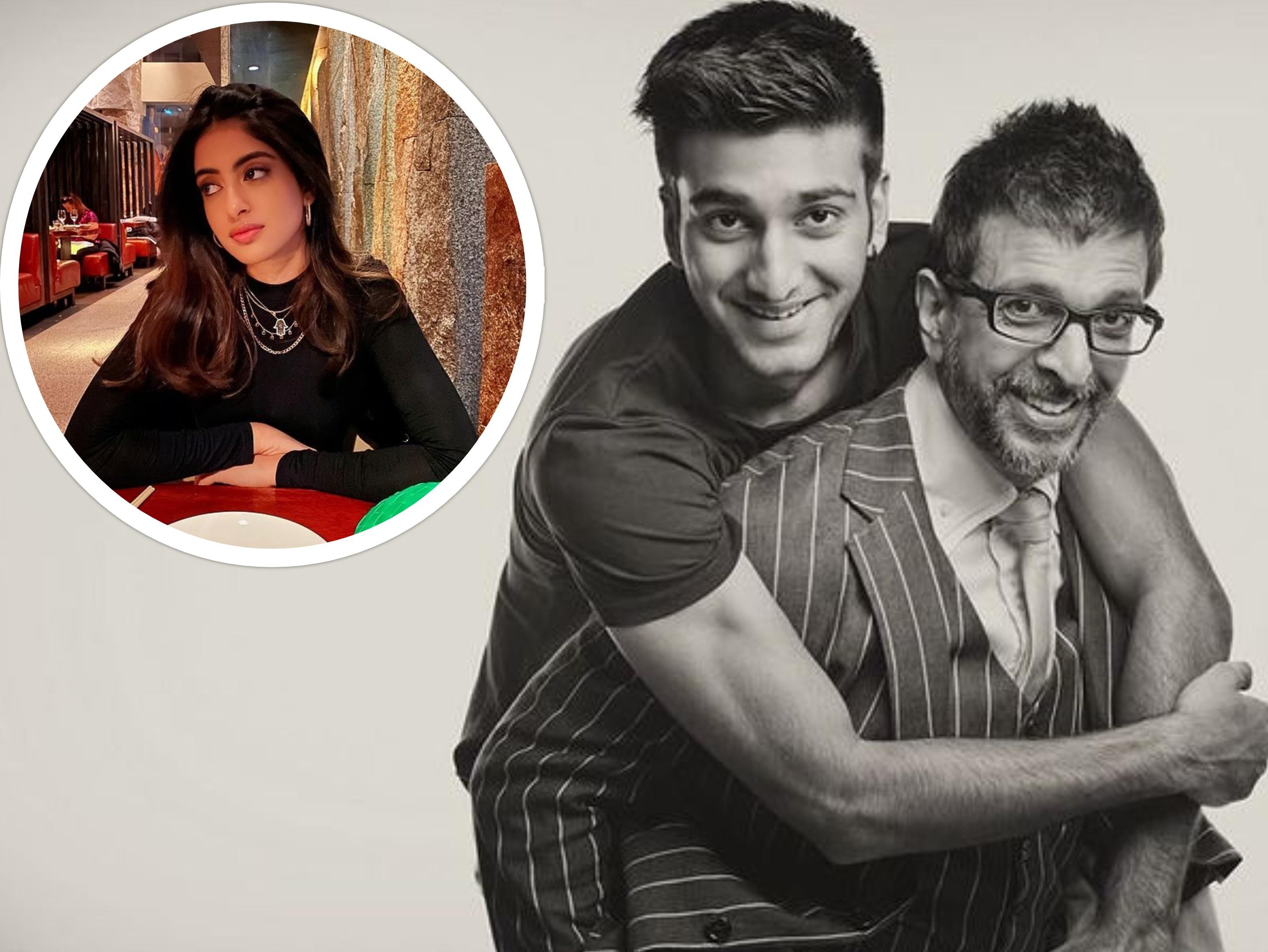 अमिताभ की नातिन नव्या और बेटे मीजान के रिश्ते पर जावेद जाफरी बोले- अच्छा दोस्त होना हमेशा कुछ और ही माना जाता है|बॉलीवुड,Bollywood - Dainik Bhaskar