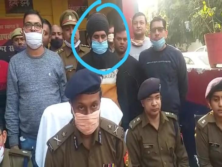 खालिस्तानी आतंकी लखनऊ के सचिवालय चौराहे से गिरफ्तार, पंजाब में कई मामलों में था वांछित|उत्तरप्रदेश,Uttar Pradesh - Dainik Bhaskar