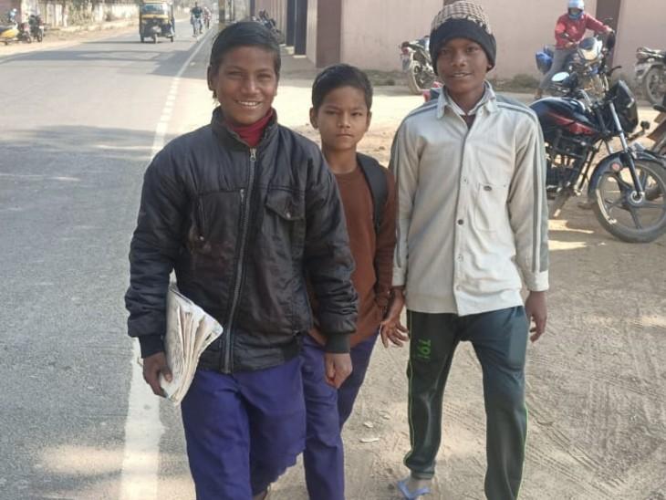 सरकारी स्कूलों तक नहीं पहुंचा सरकार का मास्क, बच्चों ने मांगा तो कल पर टाल दिया|बिहार,Bihar - Dainik Bhaskar