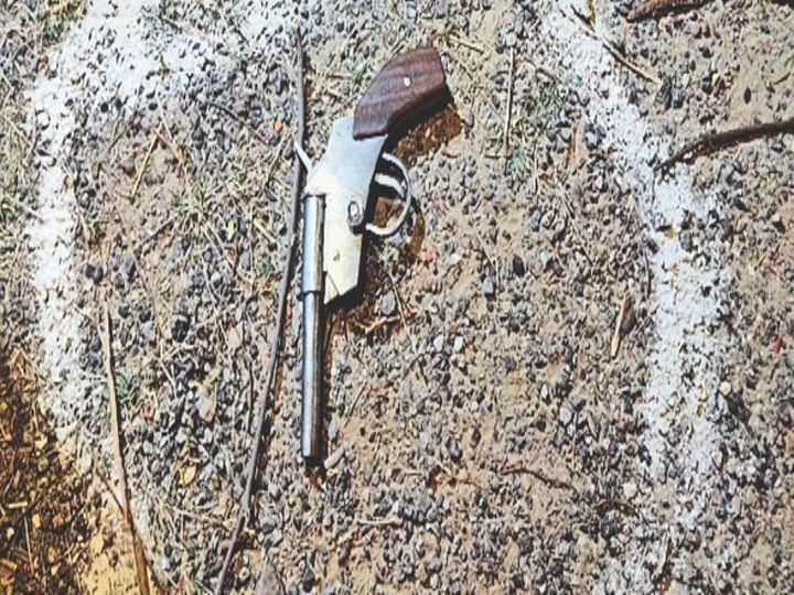 हत्यारों से पुलिस की मुठभेड़; दो बदमाश गोली लगने से घायल|उत्तरप्रदेश,Uttar Pradesh - Dainik Bhaskar