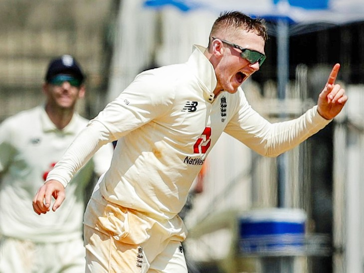 English bowler Dom Bess took 4 wickets in the first innings and one wicket in the second innings.