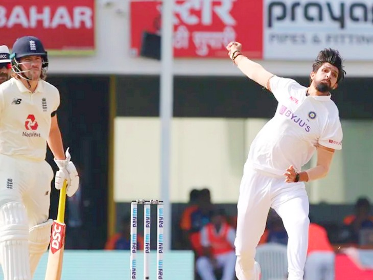 Indian fast bowler Ishant Sharma took 2 wickets in the first innings and one wicket in the second inning.