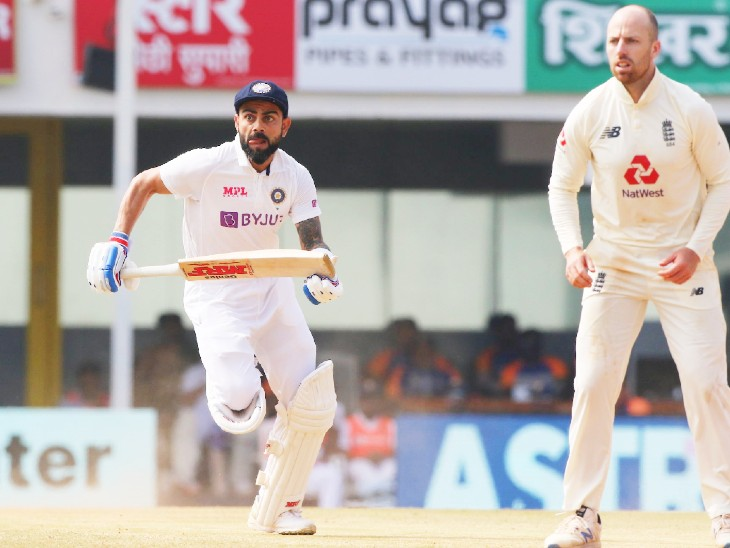 In the second innings, Kohli tried to handle the team while playing 72 runs off 104 balls, but failed.