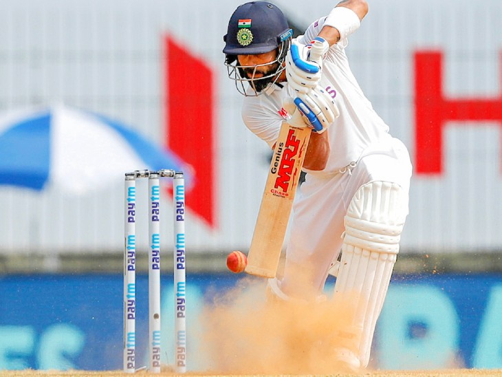 Indian captain Virat Kohli scored 11 runs in the first innings and 72 runs in the second innings.