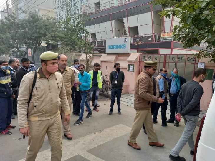 लूट का विरोध करने पर कैश प्रोसेसिंग कंपनी के सुरक्षा गार्ड की गोली मारकर हत्या, आरोपी मौके से हुआ फरार|मेरठ,Meerut - Dainik Bhaskar