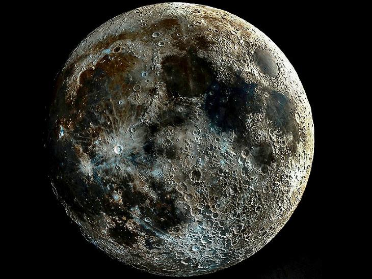 यह है चांद की सबसे साफ तस्वीर।