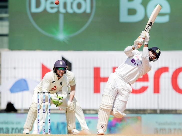 Rishabh Pant had scored 91 runs in the first innings.  This helped Team India score 337 runs.