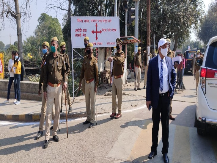 The police administration has also become very strict regarding the Magh Mela.