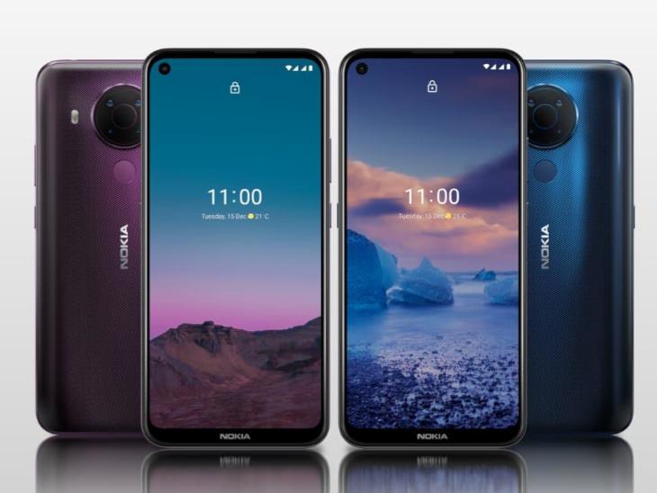 दो सस्ते स्मार्टफोन नोकिया 5.4 और 3.4 लॉन्च, 512 जीबी तक बढ़ा सकेंगे इसका इंटरनल स्टोरेज, जानिए कीमत से लेकर फीचर्स तक सबकुछ|टेक & ऑटो,Tech & Auto - Dainik Bhaskar