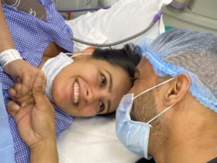 अनीता हसनंदानी ने बेटे को दिया जन्म, पति रोहित रेड्डी ने पोस्ट शेयर कर दी फैंस को खुशखबरी; लिखा-ओह बॉय|टीवी,TV - Dainik Bhaskar