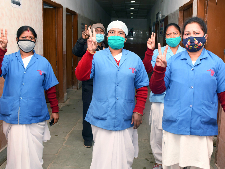 अब तक 68.26 लाख लोगों का टीकाकरण, दिल्ली में वैक्सीनेशन साइट्स की संख्या बढ़ाई जाएगी|देश,National - Dainik Bhaskar