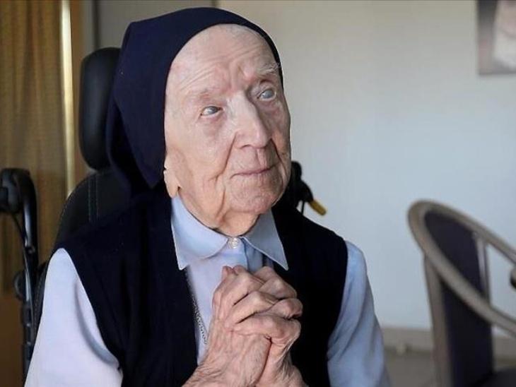 यूरोप की सबसे उम्रदराज महिला सिस्टर आंद्रे ने कोरोना को दी मात, आज मना रहीं अपना 117 वां जन्मदिन लाइफस्टाइल,Lifestyle - Dainik Bhaskar