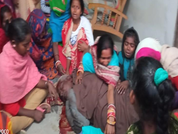 रिटायर्ड अफसर के घर 5 अपराधियों ने की लूटपाट, विरोध पर मित्र शिक्षक और अफसर पर बरसाया खंती|दरभंगा,Darbhanga - Dainik Bhaskar