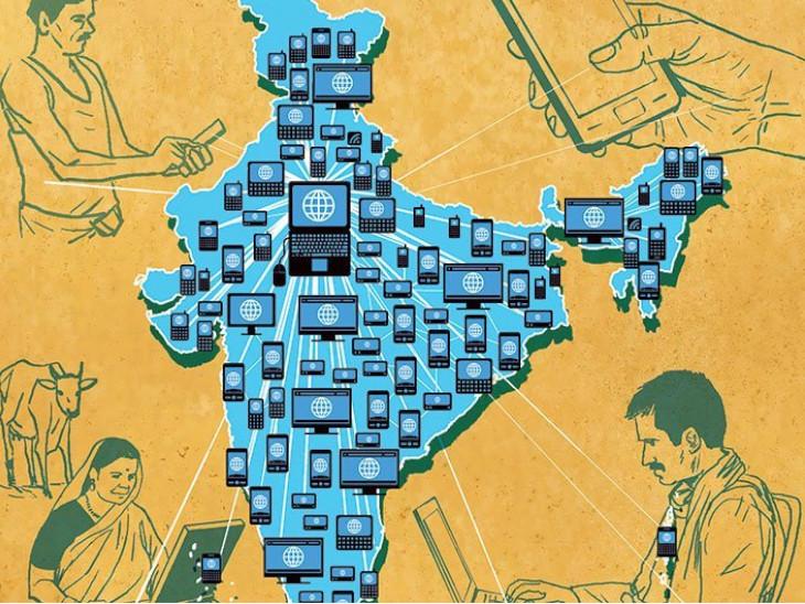 गांवों को 100 Mbps स्पीड वाली इंटरनेट देने की समय सीमा फिर बढ़ेगी, 2.5 लाख गांवों को जोड़ने की है योजना बिजनेस,Business - Dainik Bhaskar