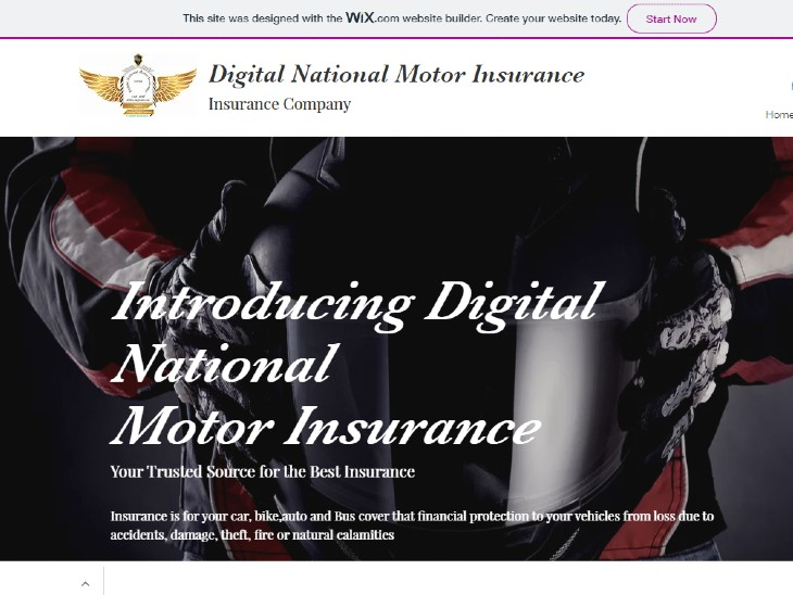 Do not buy any insurance policy from Digital National ...