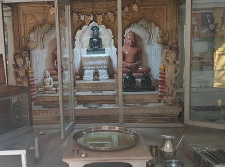 महावीर नगर में 4 फरवरी को हुई थी दिगंबर जैन मंदिर में लूट व नकबजनी की वारदात