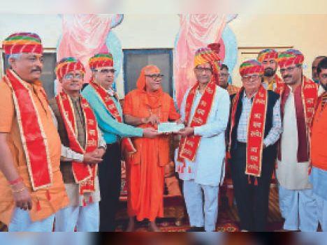 163 साल पहले 25 सिखों ने अयोध्या राम मंदिर में की थी पूजा, पहली एफआईआर उन्हीं के खिलाफ हुई, अब गर्व के साथ दे रहे समर्पण निधि|जोधपुर,Jodhpur - Dainik Bhaskar