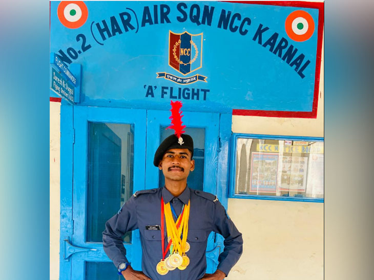पंडित चिरंजी लाल शर्मा राजकीय महाविद्यालय करनाल के कैडेटों का शानदार प्रदर्शन, लगाई पदकों की झड़ी हरियाणा,Haryana - Dainik Bhaskar