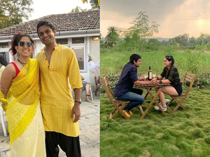 आमिर खान की बेटी इरा खान ने अपने दूसरे बॉयफ्रेंड नुपुर शिखरे के साथ मनाया प्यार का दिन|बॉलीवुड,Bollywood - Dainik Bhaskar