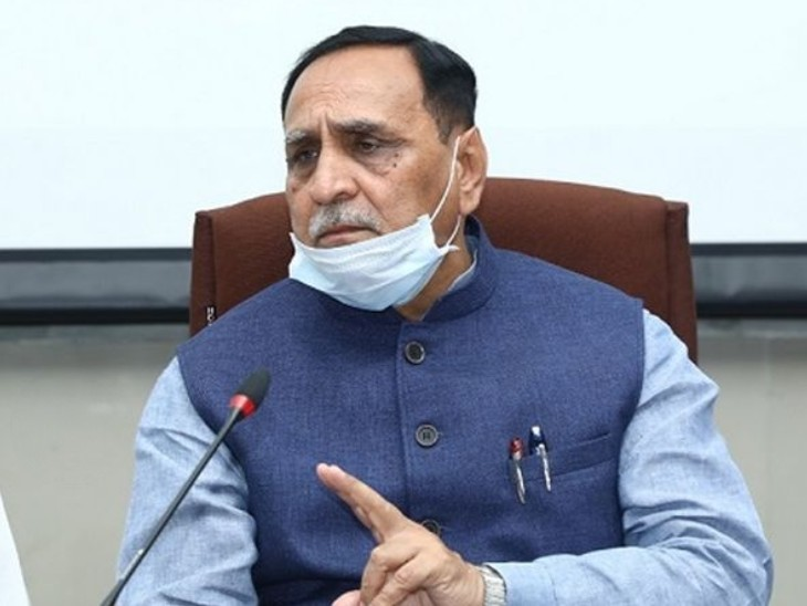विजय रूपाणी संक्रमित हुए; एक दिन पहले चुनावी सभा में चक्कर खाकर गिर पड़े थे|देश,National - Dainik Bhaskar
