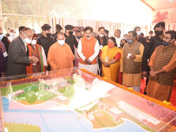 The Maharaja Suheldev memorial in Bahraich will be built on 82 bighas of land.