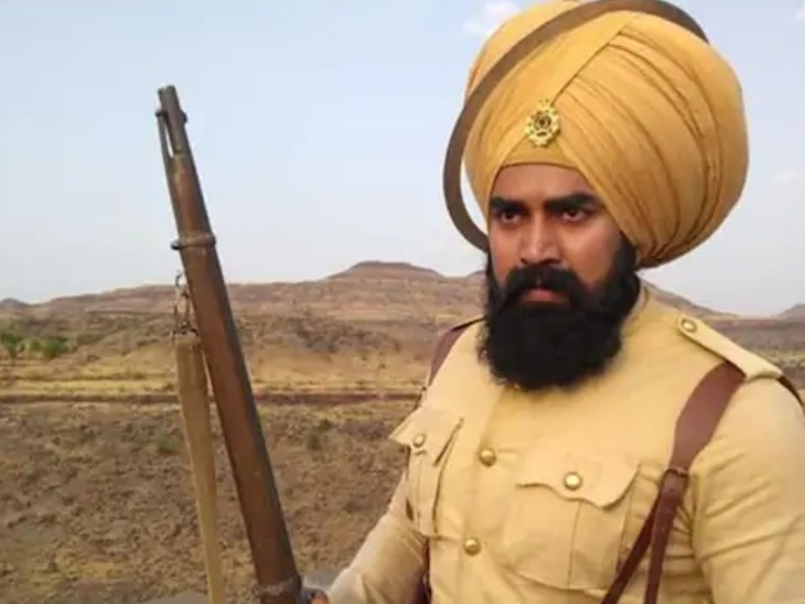 Sandeep played a Sikh soldier in the film 'Kesari'.