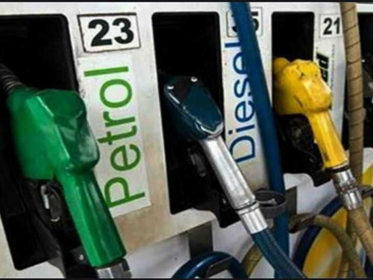 मनमोहन राज में पेट्रोल का दाम 71 रुपए, कच्चा तेल 110 डॉलर था, मोदी राज में पेट्रोल 100 रुपए और कच्चा तेल 64 डॉलर है|बिजनेस,Business - Dainik Bhaskar