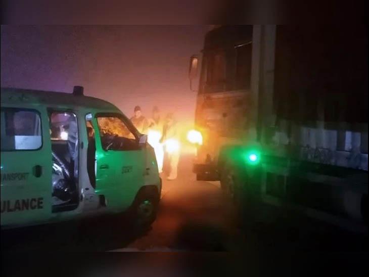 बस का इंतजार कर रहे फौजी को एम्बुलेंस ने रौंदा, मौत; छुट्टी के बाद ड्यूटी ज्वाइन करने के लिए घर से निकला था|हरियाणा,Haryana - Dainik Bhaskar