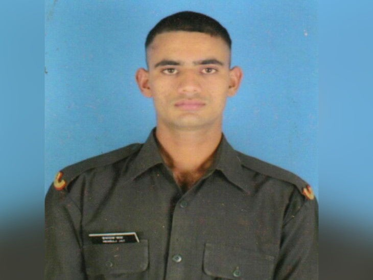 शहीद हेमराज जाट, जो कश्मीर में पाकिस्तान से लोहा लेते हुए शहीद हो गए थे। उन्हें मरणोपरांत सेना मेडल दिया गया