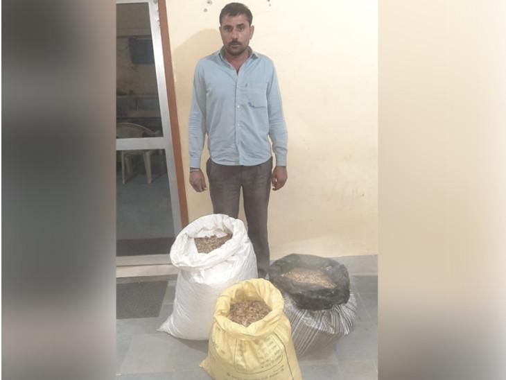घर पर चला रहा था नशे का कारोबार: 30 किलो डोडा पोस्त के साथ एक गिरफ्तार, छह हजार रुपए भी किए बरामद; स्पेशल टीम की कार्रवाई