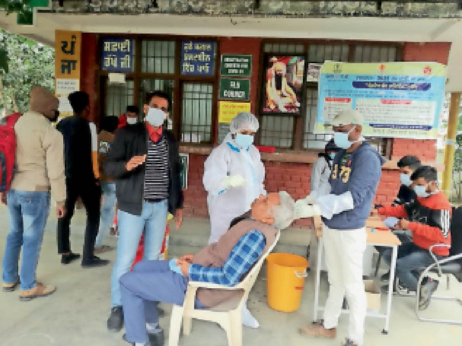 कोरोना से 1 दिन में पहली बार 5 मौतें, 9 नए पॉजिटिव 18 दिन में मिले 691 मरीज, औसतन 38 मरीज रोजाना|नवांशहर,Nawanshahr - Dainik Bhaskar