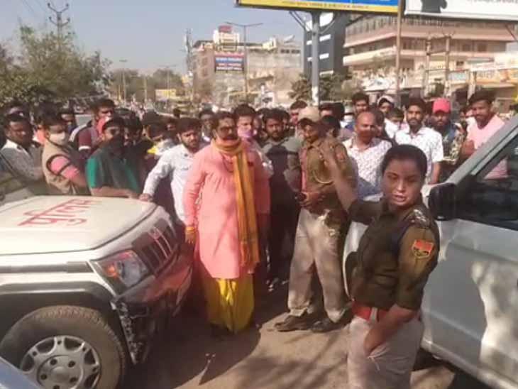 घर से लापता हुई किशोरी ने नारी निकेतन से लौटने के बाद अब लगाया दुष्कर्म का आरोप|जोधपुर,Jodhpur - Dainik Bhaskar