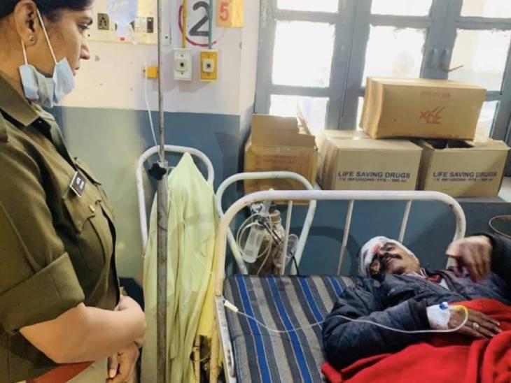 Injured Prabhakar.