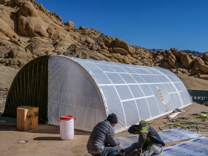 सोनम वांगचुक ने पहाड़ों पर तैनात रहने वाले जवानों के लिए टेंट बनाया, -20° में भी अंदर का तापमान 15° रहेगा देश,National - Dainik Bhaskar