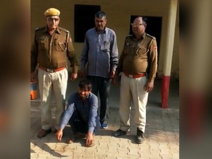 दो लोगों की मौत के मामले में 6 साल से चल रहा था फरार, पुलिस ने हरियाणा से किया गिरफ्तार|भरतपुर,Bharatpur - Dainik Bhaskar