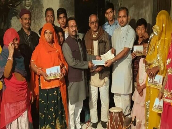 ब्यावर में 3.85 करोड़ रुपए का संग्रह; बच्चों ने पॉकिटमनी और गुल्लक से किया सहयोग, हाउस लोन से राशि देने में भी परहेज नहीं अजमेर,Ajmer - Dainik Bhaskar
