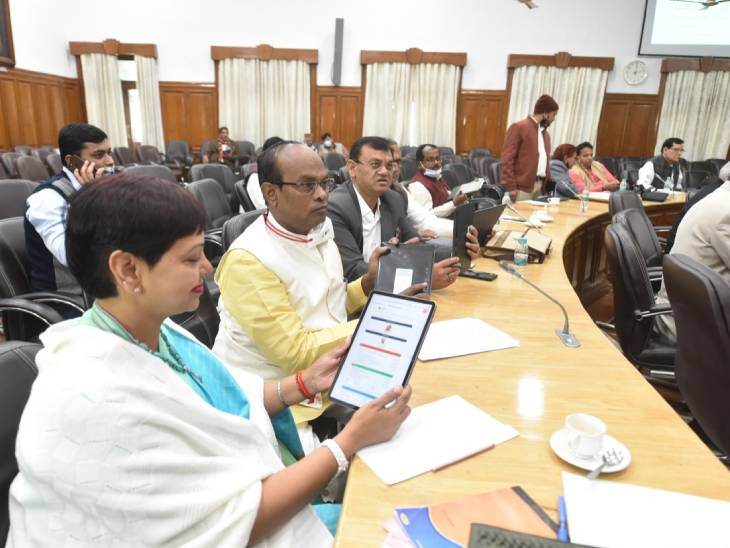 In the past, all the party MLAs were given tablets by the government and they were also trained to operate it.