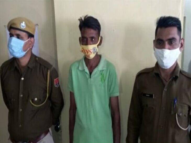 वीडियो हुआ वायरल; पुलिस ने आरोपी सुरक्षा गार्ड को किया पाबंद, पीड़ित युवक की तलाश, मामला दर्ज नहीं|अजमेर,Ajmer - Dainik Bhaskar