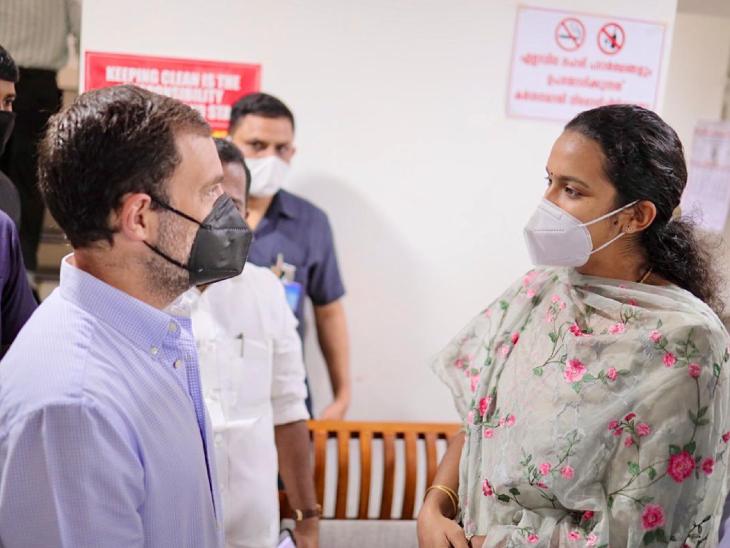 संसदीय क्षेत्र के दौरे पर राहुल गांधी:कांग्रेस नेता ने कहा- मोदी ने पहले मनरेगा का मजाक उड़ाया, कोविड में यही काम आया