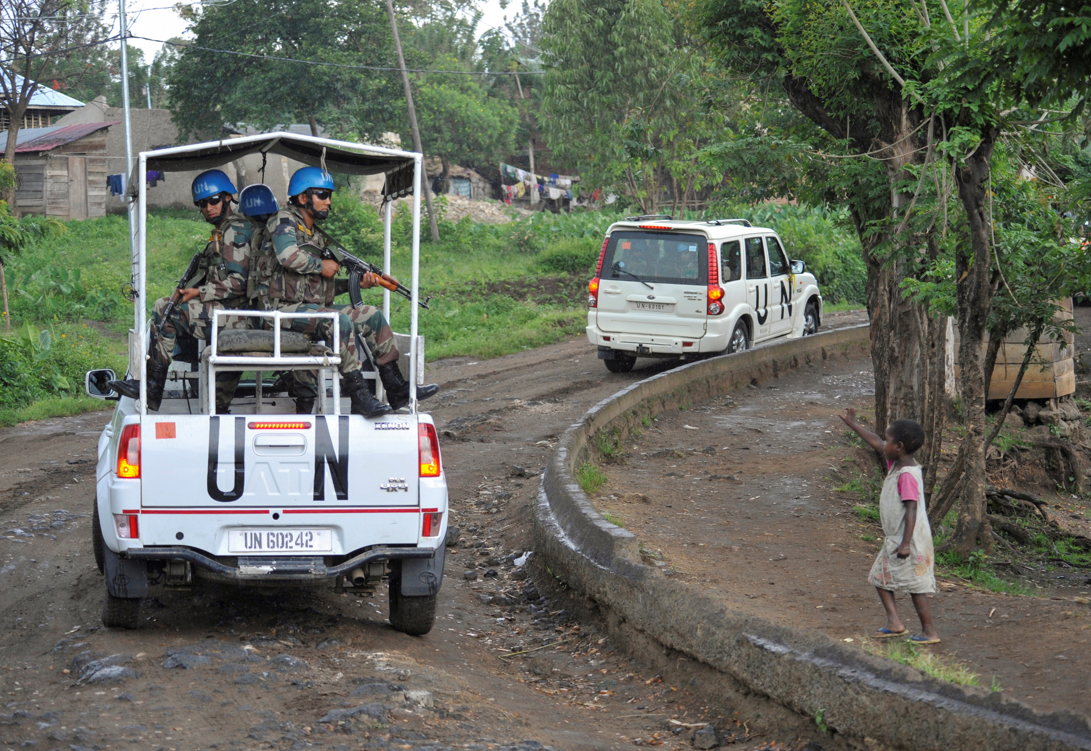 Congo is one of the countries with the highest number of UN peacekeepers.