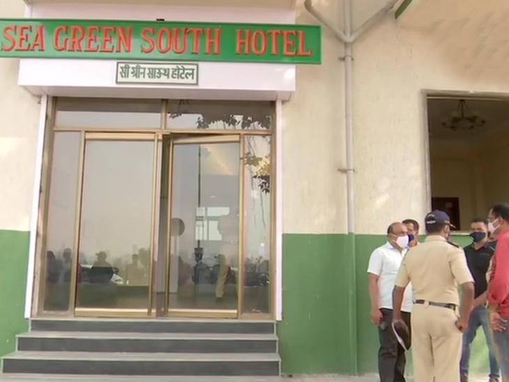 मरीन ड्राइव पर स्थित होटल सी ग्रीन में ठहरे हुए थे सांसद मोहन डेलकर।