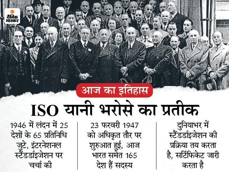 दुनियाभर में क्वालिटी के स्टैंडर्ड तय करने वाला ISO बना, आप भी जानिए क्या है ISO सर्टिफिकेशन देश,National - Dainik Bhaskar