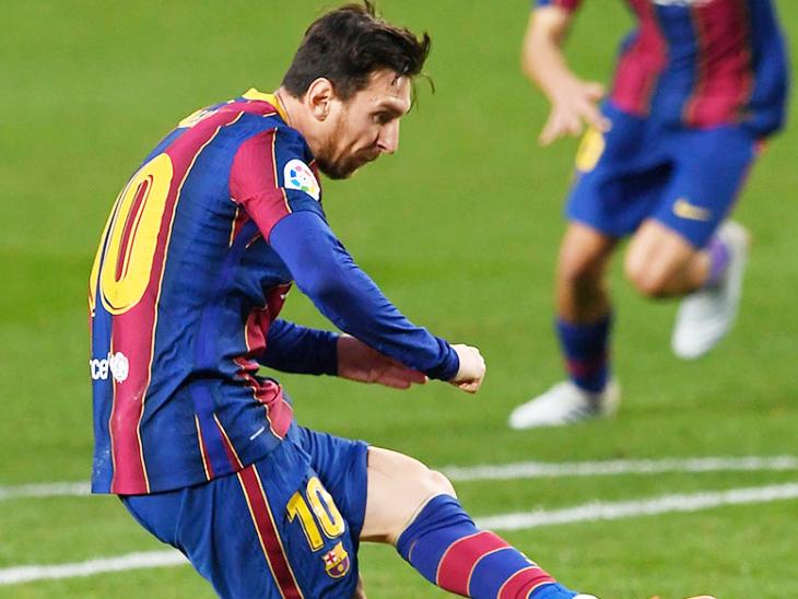 लगातार रिकॉर्ड तोड़ रहे मेसी:बार्सिलोना के लिए सबसे ज्यादा ला लीगा मैच खेले; पेनल्टी पर सबसे ज्यादा गोल का रिकॉर्ड तोड़ने से दो कदम दूर